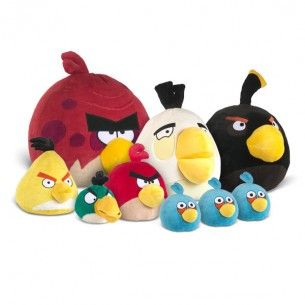 Angry birds plush and toys on pinterest - Angry birds toys ebay ...