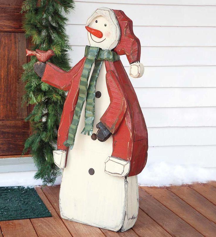 25 Unique Large Outdoor Christmas Decorations Ideas On: 25+ Unique Outdoor Snowman Ideas On Pinterest