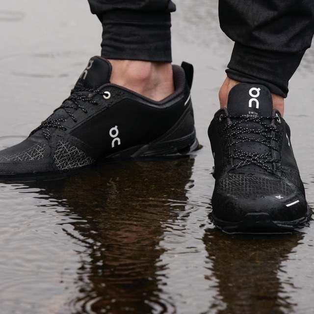 Cloudflyer Waterproof Men S Waterproof Stability Shoe On Waterproof Running Shoes Running In The Rain Waterproof Shoes