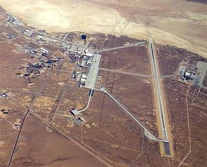 Edwards Air Force Base, Calif, main base area.jpg  Spent 7 years on this base as a kid!