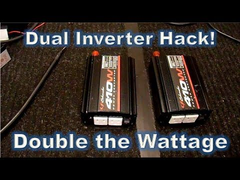 Aims 6000 watt 48v inverter and battery bank (Whole home uninterrupted backup) - 1.5 of 3 - UPDATE - YouTube