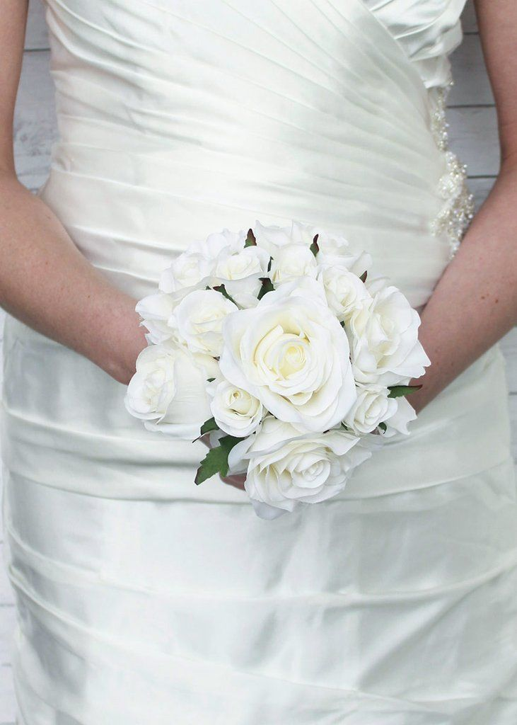 Small Simple Wedding Bouquets : Best images about bridal bouquets on diy wedding bouquet silk peonies and