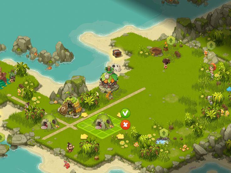 Adventure Era - Tycoon Phase - UI HUD User Interface Game Art GUI iOS Apps Games