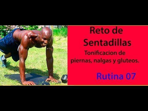 AGRANDAR GLUTEOS CON SENTADILLAS RUTINA 07 - YouTube