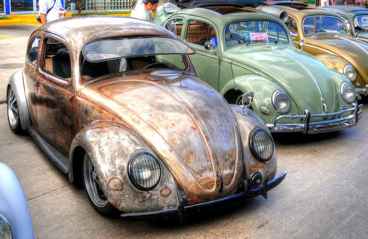 VW with a nice patina
