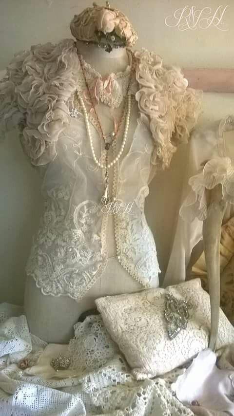 Lace dress form #dressforms