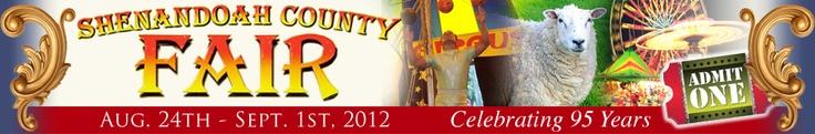 Shenandoah County Fair - Demolition Derby 8.27.12