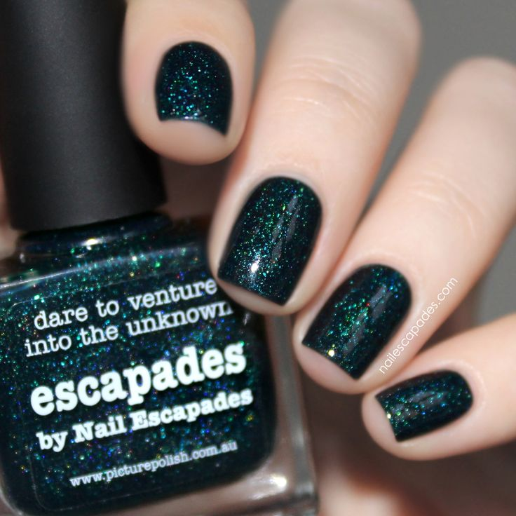 piCture pOlish 'Escapades' NEW collaboration shade with Nail Escapades thanks Malene! www.picturepolish.com.au