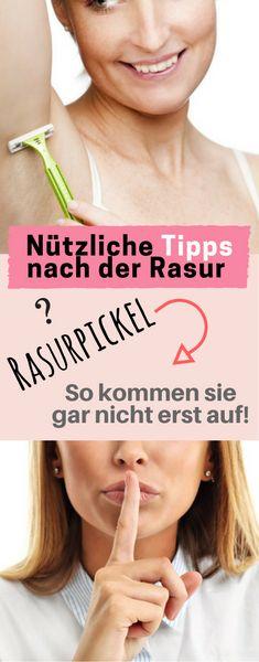 Was gegen Rasurpickel tun?Männer wie Frauen, die sich rasieren, können Rasurpickel (auch Rasierpickel genannt) bekommen, die nicht nur eine negative ästhetische Wirkung haben, sondern auch ein Gesundheitsrisiko darstellen, sofern sie sich entzünden. Zu unterscheiden sind sie von Pickeln, die unabhängig vom Rasieren entstehen, wie etwa in bestimmten Lebensphasen z.B. der Pubertät. Pickel gehören zu d