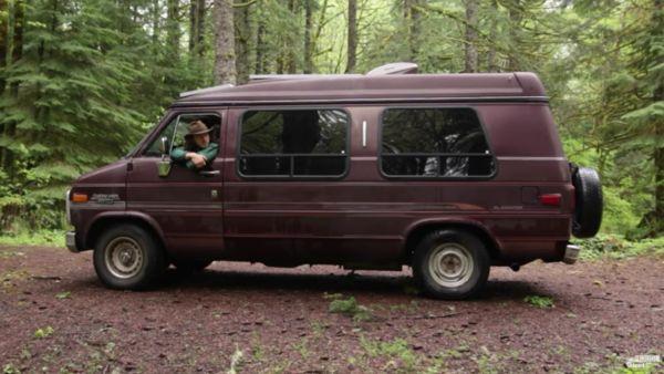 Dylan Magaster's Cheap Off-Grid Van Life