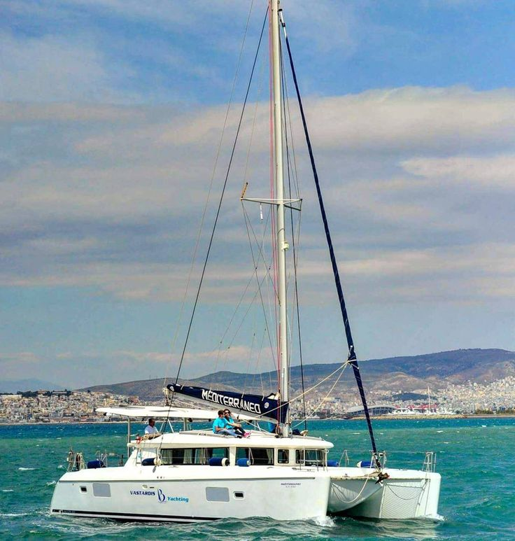 Sail on board this gorgeous Lagoon 420 in Greece for less than you think - read the comments. #sailing #specials