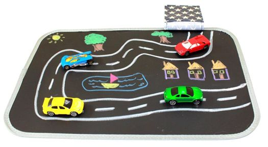 Chalkboard and Travel Draw Mat Travel toys