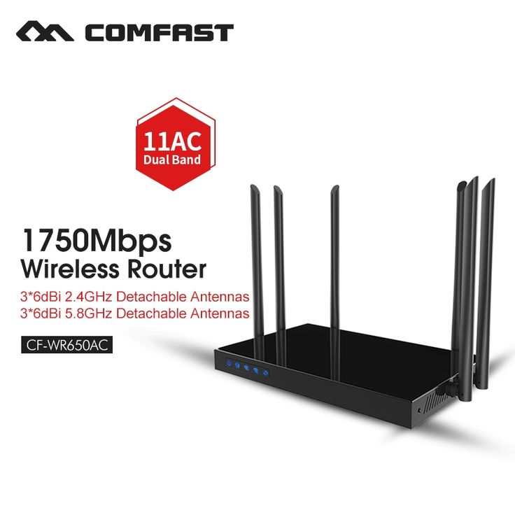 118.90$  Buy here - http://aliy0a.worldwells.pw/go.php?t=32727601654 - High power wireless router dual band AC 5g repeater wireless extender 5ghz gigabit wifi wired router COMFAST CF-WR650AC 118.90$