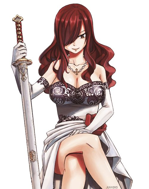 30 Day Anime Challenge, Day 3- favourite female character. Many people could have taken this spot like Shura or Riza Hawkeye but Erza won out. All these characters hold their own in their respective worlds and honestly this choice was so hard that if I could I would have put Hawkeye as well but right now I am obsessed with FR so Erza won out. She shows all of us that girls can be just as powerful as boys.