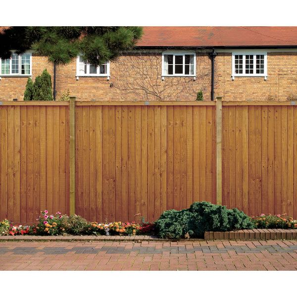 Classic Closeboard Fence Panel Pack 5ft x 3