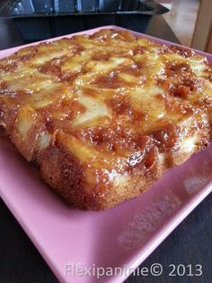 gâteau pomme au caramel beurre salé