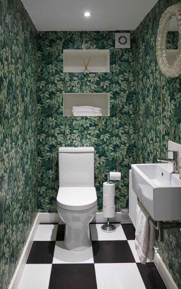 Зеленые обои в интерьере: 50+ фото свежих и стильных решений