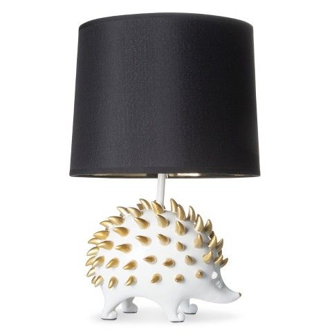$50 Hedgehog Figural Table Lamp