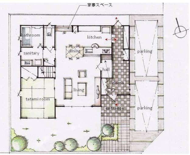 家づくりコツ・設計無料のココロを集める家づくり相談・間取り提案|1fplan1.jpg