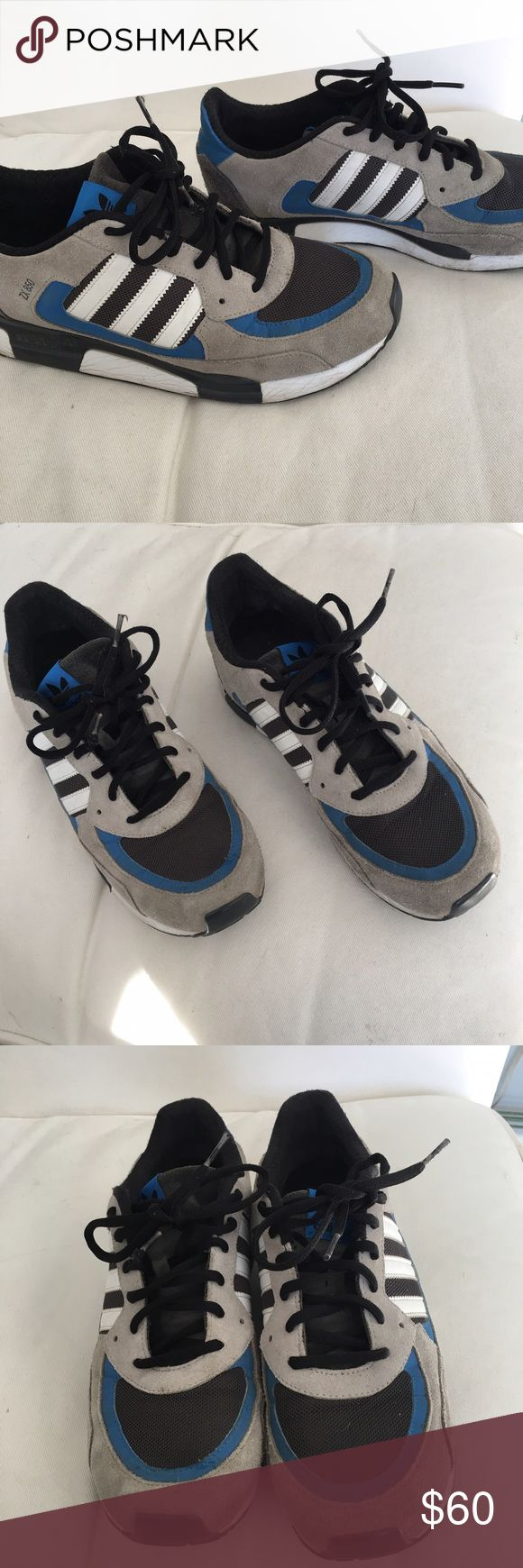 adidas zx 850 men's adidas zx 850 in great condition with some wear on the heel Adidas Shoes Athletic Shoes