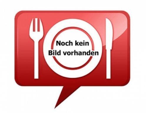 (*) Für eine Tortenform (Quicheform) von ungefähr 22 cm Länge, sollte für 6 bis 8 Leute anbieten. Die Tortenform (Quicheform) mit Frischhaltefolie