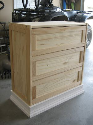 IKEA Rast Dresser ($35) Hack: New Nightstands