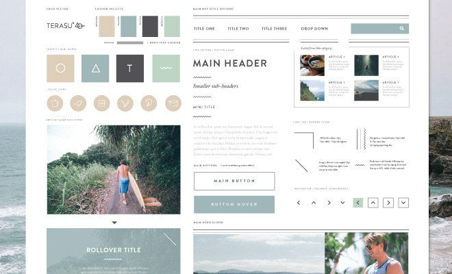 Introduction to Style Tiles for Web Design