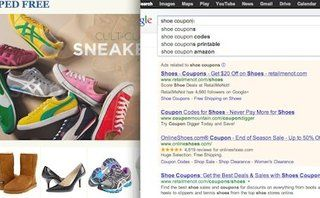 Using search remarketing