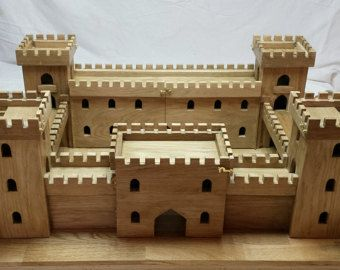 miniature plywood collectors castle warhammer by ArtBySPELLBOUND