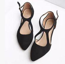 Nuevos 2015 forman a mujeres zapatos cómodos individuales de trabajo de tacón bajo zapatos mujer primavera verano tamaño 35-41 envío gratis(China (Mainland))