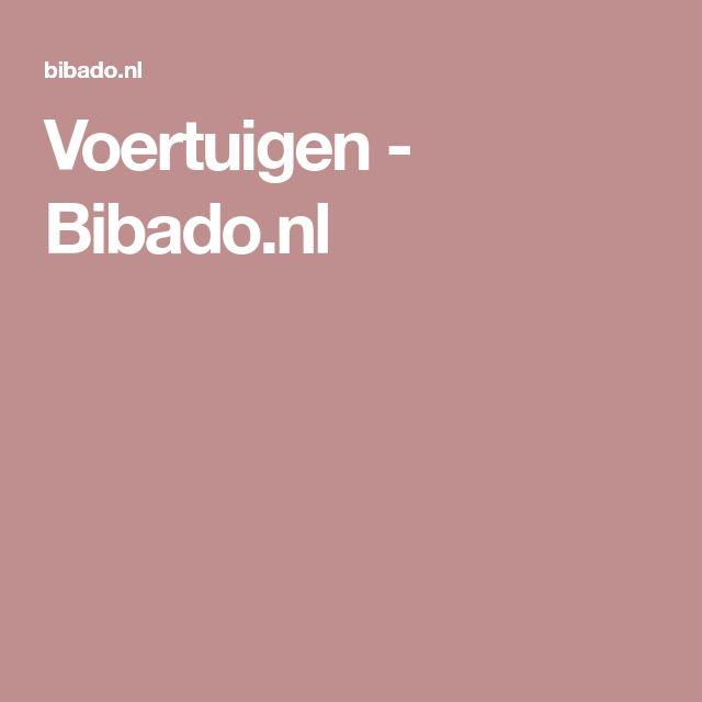 Voertuigen - Bibado.nl