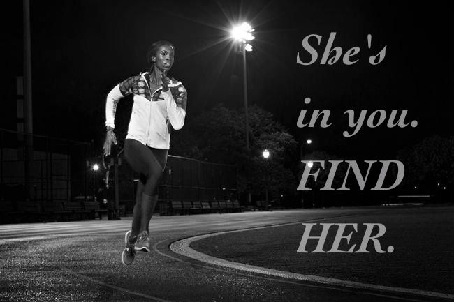 She's in you. FIND HER.