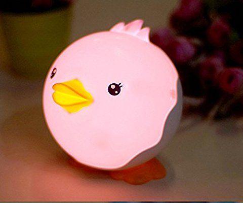 Kawai canard veilleuse lumi re de nuit usb rechargeable lampe eclairage pour b b chambre salon - Veilleuse pour salon ...