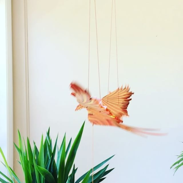 Flying Phoenix!! Online at www.tulias.com.  #handmade #fairtrade #homedecor #phoenix #fawkes #tuliasartisangallery @tuliasartisangallery