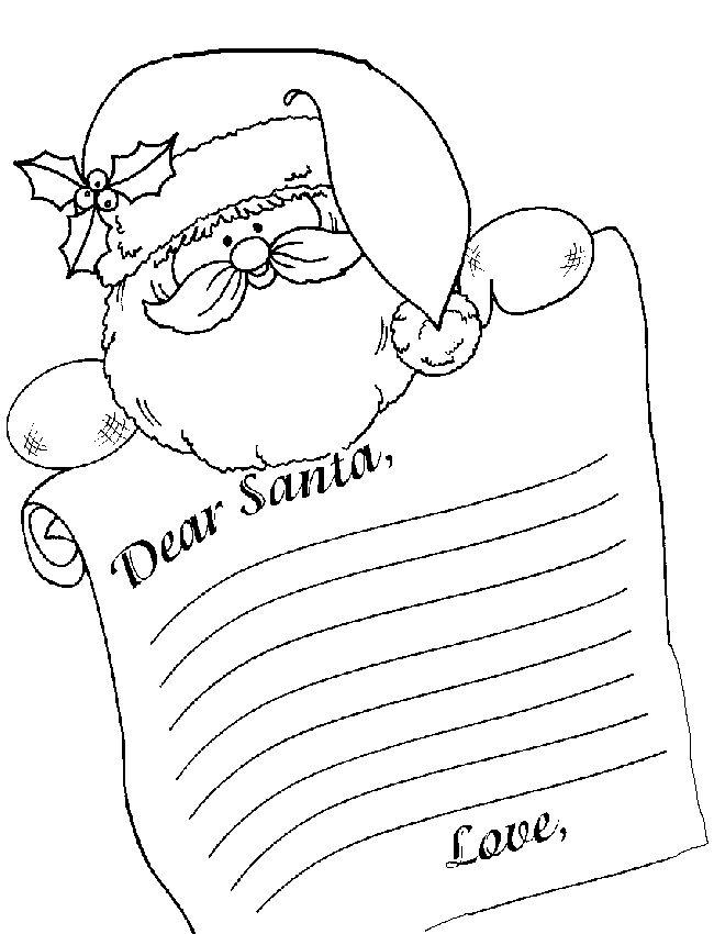 Best 25+ Letter from santa template ideas on Pinterest