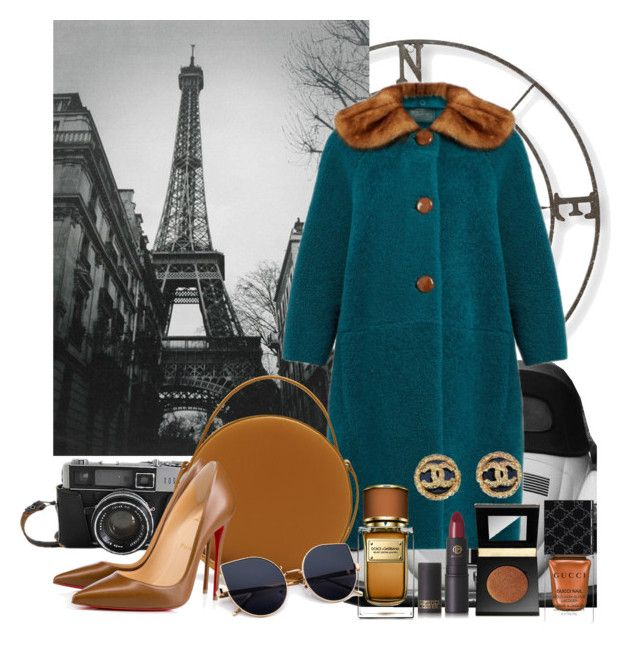 Autumn Look #11 Pick me up in Paris by gpatricia on Polyvore featuring polyvore fashion style Prada Christian Louboutin PB 0110 Chanel tarte Lipstick Queen Dolce&Gabbana Gucci L.L.Bean clothing