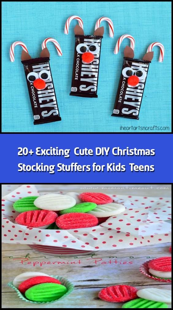 20 Exciting  Cute Diy Christmas Stocking Stuffers For -2878