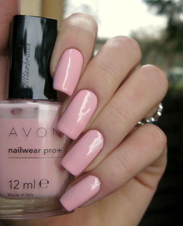 Avon Pink Nail Polish: Avon Pastel Pink