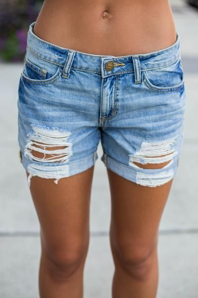 Weekend Jam Jean Shorts