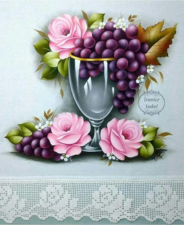 Pano de prato pinturas