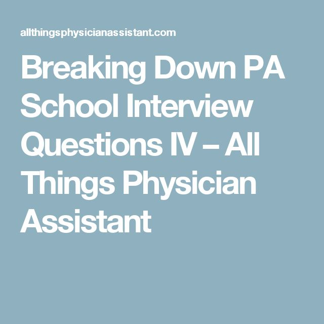 Best 25+ Pa interview questions ideas on Pinterest School - dental assistant interview questions
