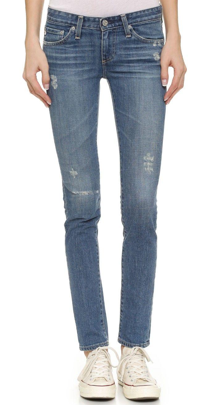 AG Stilt Cigarette Jeans | SHOPBOP