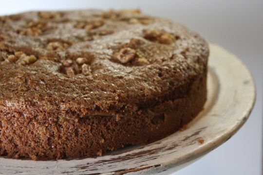 GINGER APPLE CAKE TORTE: Nothing all that unusual, but it's so ...