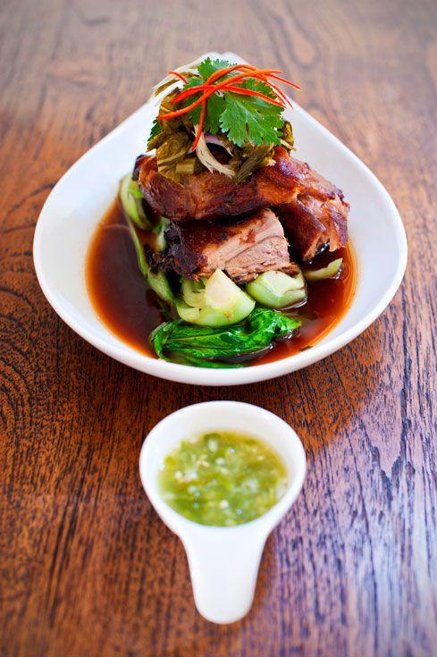 MAMA San | caramelised pork belly