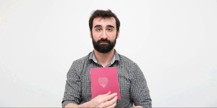 See What Happens When a Guy Tries to Make Pinterest Valentine's Day Cards