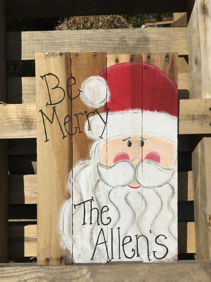 Pallet Wood Paint Party – Be Merry – December 10