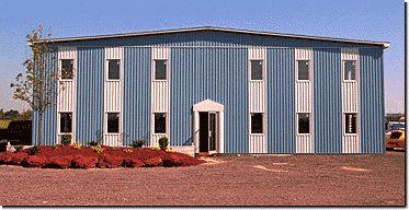 Pre-engineered Metal Office Buildings