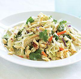 Vietnamese-Style Chicken Salad: Vietnamese Styl Chicken, Recipes Salad Bowls, Chicken Salads, Chicken Salad On, Grilled Chicken, Chicken Salad Looks, Chicken Salad Thi, Chicken Salad Recipes, Chicken Breast