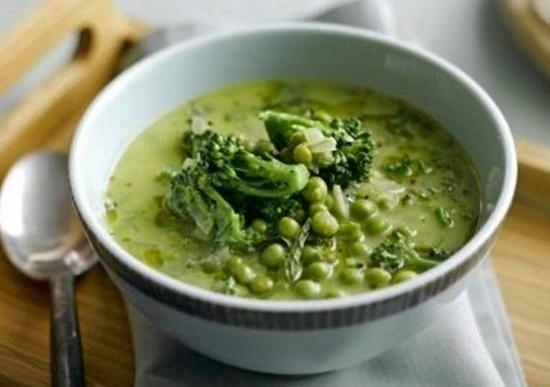 Суп для похудения с замороженными овощами