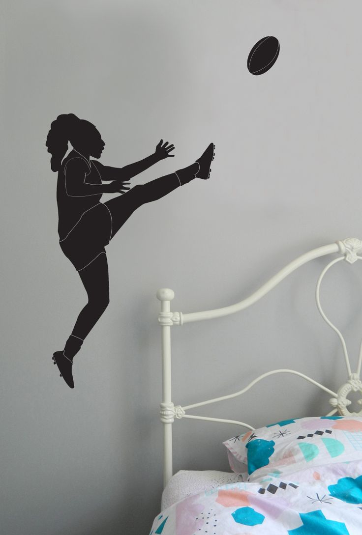Do you love Female Australian Football League? Our wall sticker is great for bedroom walls, is removable and easy to apply. https://www.moonfacestudio.com.au/product-page/female-australian-footy-player-vinyl-wall-sticker-decal